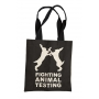 Fighting Animal Testing Bag